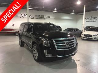 Used 2015 Cadillac Escalade ESV Premium - Financing Available** for sale in Concord, ON