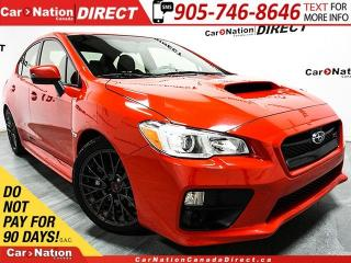 Used 2017 Subaru WRX STI | AWD| LOW KM'S| LEATHER-TRIMMED SEATS| for sale in Burlington, ON