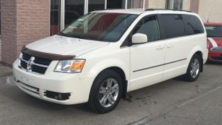 Used 2010 Dodge Grand Caravan 4dr Wgn SXT .Leather , Wood Trim. Power sliding doors for sale in North York, ON