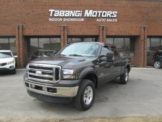 Used 2006 Ford F-350 Super Duty SRW LARIAT|FX4|DIESEL|NAVIGATION|LEATHER |CREW|4X4 for sale in Mississauga, ON
