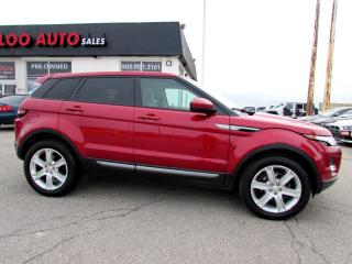 Used 2014 Land Rover Evoque Pure Plus NAVIGATION CAMERA CERTIFIED WARRANTY for sale in Milton, ON