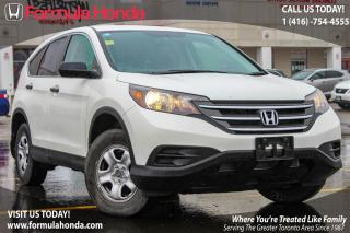 Used 2014 Honda CR-V LX | BLUETOOTH | REAR-VIEW CAMERA for sale in Scarborough, ON