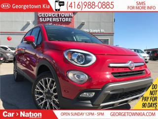 Used 2016 Fiat 500X Trekking | SUNROOF | KEYLESS | LEATHER TRIM | for sale in Georgetown, ON