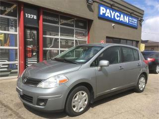 Used 2010 Nissan Versa 1.8 S for sale in Kitchener, ON
