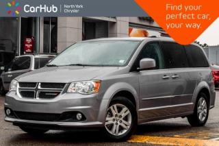 Used 2017 Dodge Grand Caravan Crew+|RearDVD,DriverConvi,Pkgs|Nav|BackUpCam|Leather|17