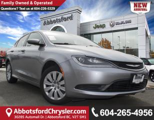 Used 2015 Chrysler 200 LX *ACCIDENT FREE* *LOCALLY DRIVEN* for sale in Abbotsford, BC