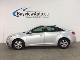 Used 2016 Chevrolet Cruze - TURBO! REMOTE START! ROOF! ALLOYS! HTD LEATHER! PIONEER! MY LINK! for sale in Belleville, ON