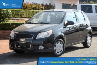Used 2010 Chevrolet Aveo LT CD Player, A/C, AUX Input for sale in Port Coquitlam, BC