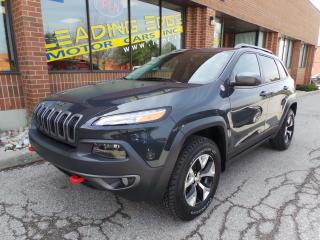 Used 2016 Jeep Cherokee Trailhawk Leather, Remote Start, Panoramic Sunroof for sale in Woodbridge, ON