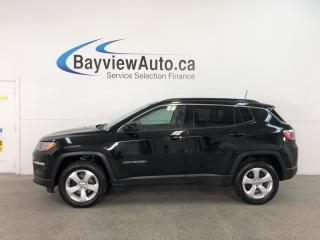 Used 2018 Jeep Compass North - 4x4! PUSH BTN START! SELEC-TERRAIN! BLUETOOTH! for sale in Belleville, ON