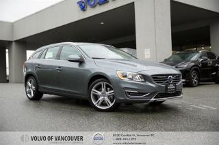 Used 2017 Volvo V60 T5 AWD SE Premier BACK UP CAM - HEATED SEATS - AWD for sale in Vancouver, BC