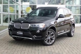 Used 2015 BMW X3 xDrive28i Navi/Pano Roof for sale in Vancouver, BC