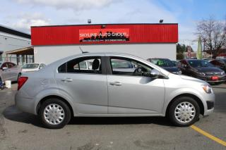 Used 2015 Chevrolet Sonic 4dr Sdn LT Auto for sale in Surrey, BC