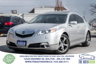Used 2009 Acura TL SH AWD 3.7L LOW KM'S for sale in Caledon, ON