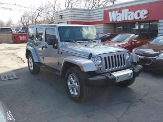 Used 2014 Jeep Wrangler Unlimited Sahara 4WD for sale in Ottawa, ON