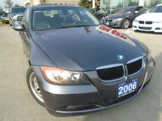 Used 2006 BMW 3 Series 323i SUNROOF  NO ACCIDENT 4 NEW TIRES NO RUST AUX for sale in Oakville, ON
