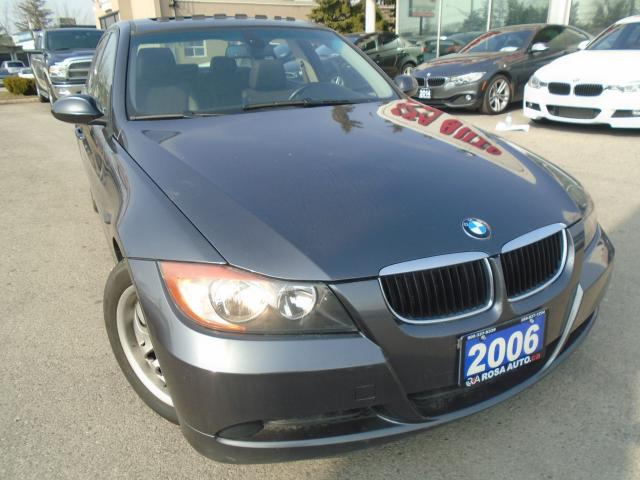 2006 BMW 3 Series 323i SUNROOF  NO ACCIDENT 4 NEW TIRES NO RUST AUX