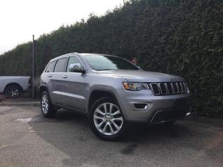 Used 2017 Jeep Grand Cherokee LIMITED 4X4 + NAV + SUNROOF + HEATED FT/RR SEATS for sale in Surrey, BC