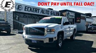 Used 2014 GMC Sierra 1500 4X4 REG CAB WITH BLUETOOTH for sale in Barrie, ON