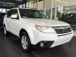 Used 2009 Subaru Forester AWD, HEATED SEATS, ACCIDENT FREE for sale in Edmonton, AB