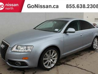 Used 2010 Audi A6 3.0 Premium AWD, QUARTO, S-LINE WITH NAVIGATION. for sale in Edmonton, AB