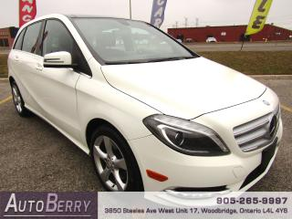 Used 2014 Mercedes-Benz B-Class B250 - Prem Pkg - Pano Roof for sale in Woodbridge, ON