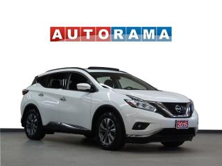Used 2015 Nissan Murano PANORAMIC SUNROOF BACKUP CAMERA AWD for sale in North York, ON