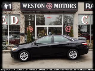 Used 2015 Toyota Camry LE*FULLY LOADED*BLUETOOTH*UNBELIEVABLE SHAPE!!* for sale in York, ON