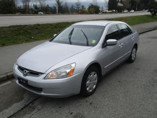 Used 2004 Honda Accord LX for sale in Surrey, BC