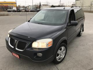 Used 2009 Pontiac Montana SV6, 7 Passenger, 3/Ywarranty available for sale in North York, ON