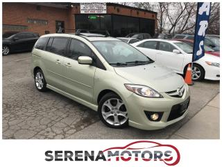 Used 2008 Mazda MAZDA5 GT | 6 PASSENGER | SUNROOF | NO ACCIDENTS for sale in Mississauga, ON