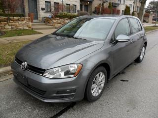 Used 2015 Volkswagen Golf AUTO, TDI,  DIESEL, FACTORY WARR, LOW KMS for sale in Etobicoke, ON