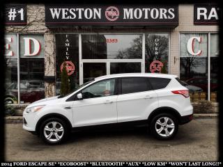 Used 2014 Ford Escape SE*ECOBOOST*BLUETOOTH*AUX*LOW KM*A MUST SEE!!!* for sale in York, ON