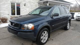 Used 2004 Volvo XC90 toute équipée for sale in Saint-jean-chrysostome, QC