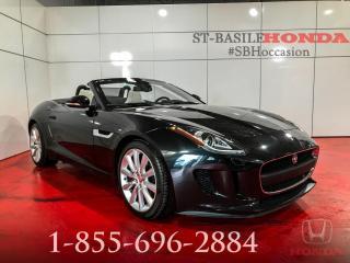Used 2016 Jaguar F-Type PREMIUM + GARANTIE + BAS KILOS + WO for sale in St-Basile-le-Grand, QC