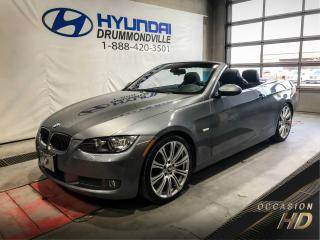 Used 2007 BMW 335i CONVERTIBLE + SPORT PACK & PREMIUM + MAG for sale in Drummondville, QC