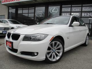 Used 2011 BMW 328xi Sedan i xDrive-NAVIGATION-LTHER-SUNROOF-BLUETOOTH-HEATED for sale in Scarborough, ON