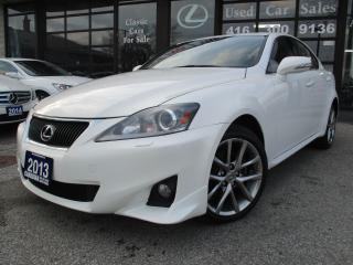 Used 2013 Lexus IS 250 AWD-LEATHER-SUNROOH-BLUETOOTH-HEATED for sale in Scarborough, ON