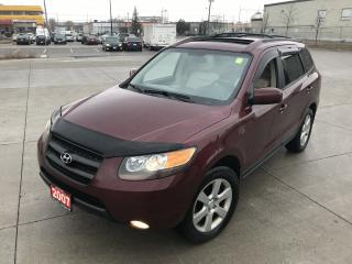 Used 2007 Hyundai Santa Fe Leather, Sunroof, 3/Y warranty available for sale in North York, ON