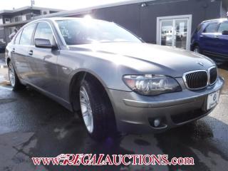 Used 2006 BMW 7 SERIES 750LI 4D SEDAN for sale in Calgary, AB
