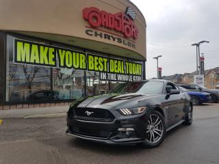 Used 2017 Ford Mustang GT Premium 5.0 GT LTHR NAVI REAR CAM for sale in Scarborough, ON