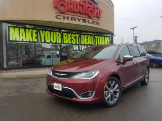 Used 2017 Chrysler Pacifica Limited PANO ROOF NAVI TOW PKG 2 YR MAINTENANCE for sale in Scarborough, ON