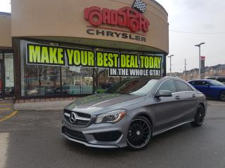 Used 2014 Mercedes-Benz CLA250 CLA 250 P-ROOF BLACK WHEELS SKIRT PKG SPORT SEATS for sale in Scarborough, ON