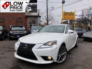 Used 2014 Lexus IS 250 Navi*BlindSpot*BrownSeats*Alloys*LexusWarranty* for sale in York, ON