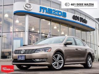 Used 2015 Volkswagen Passat 1.8 TSI Highline,NO ACCIDENTS,NAVIGATION,REARCAM for sale in Mississauga, ON