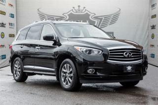 Used 2014 Infiniti QX60 PREMIUM PLUS PACKAGE ~ 360 CAMERA ~ NAVI ~ ROOF for sale in North York, ON
