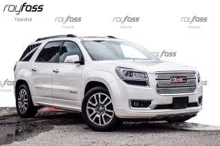 Used 2013 GMC Acadia Denali AWD Nav 20 Whls Rood Trailer Pkg for sale in Thornhill, ON