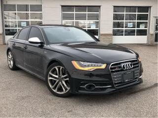 Used 2014 Audi S6 4.0**LEATHER**360 CAMERA** for sale in Mississauga, ON
