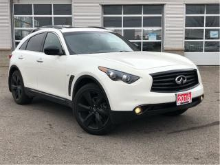 Used 2016 Infiniti QX70 SPORT**NAVIGATION**SUNROOF** for sale in Mississauga, ON