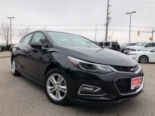 Used 2017 Chevrolet Cruze LT Manual**HEATED SEATS**BACK UP CAMERA** for sale in Mississauga, ON